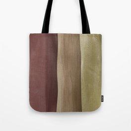 Brown Gradient on Wood Tote Bag