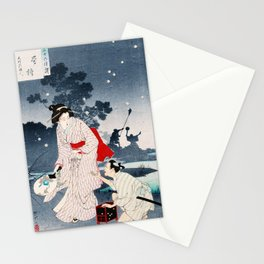 Chasing Fireflies Stationery Cards