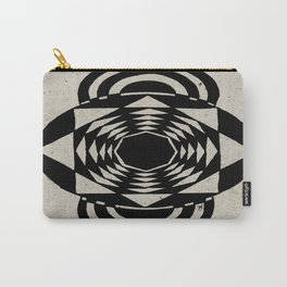 Octagonal Illusion Carry-All Pouch