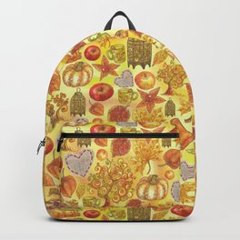Rustic Fall. Indian summer Backpack