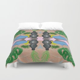 Still Life with Vases Duvet Cover