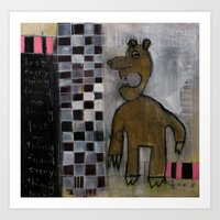 Bart the Bear Art Print