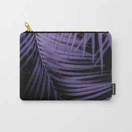 Palm Leaves Ultra Violet Vibes #1 #tropical #decor #art #society6 Carry-All Pouch