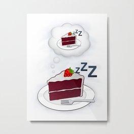 Dreamy Dream Cake Metal Print