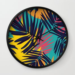 Tropical Jungle Wall Clock