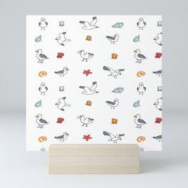 Seaguls  Mini Art Print