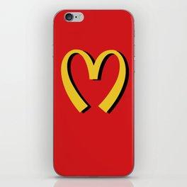 McDonald's MOSCHINO iPhone Skin