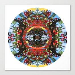 Flamboyant Mandala Canvas Print