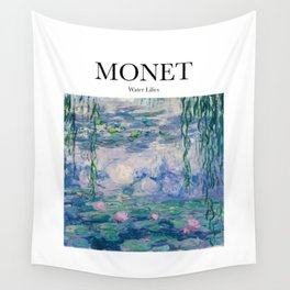 Monet - Water Lilies Wall Tapestry