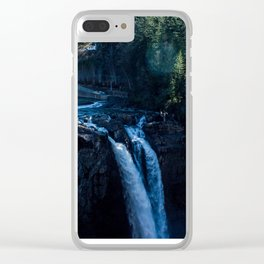 Snoqualmie Falls Clear iPhone Case
