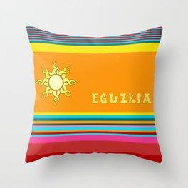 EGUZKIA Throw Pillow