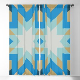 American Native Pattern No. 116 Blackout Curtain