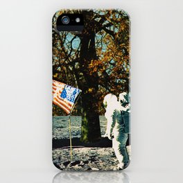 the first man under a tree iPhone Case