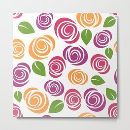 florals #society6 #decor #buyart Metal Print