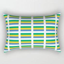 flag of gabon -gabon,gabonais,gabonaise,Gabonese,gabones,libreville. Rectangular Pillow