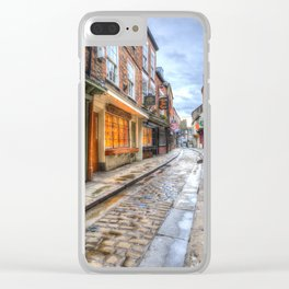 The Shambles Street York Clear iPhone Case