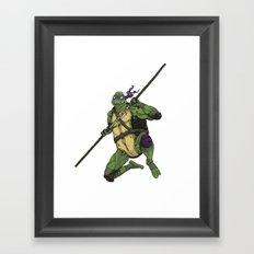 Donatello Framed Art Print