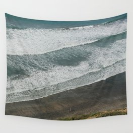 Waves on the Beach Wall Tapestry