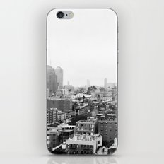 Lower East Side Skyline #3 iPhone Skin