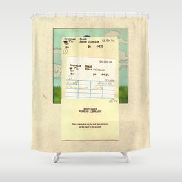 Space Colonies Are Overdue Shower Curtain