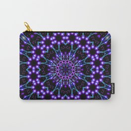 Light Structures Mandala Carry-All Pouch