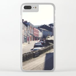 Walls That Separate Clear iPhone Case