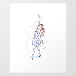 Sundress Joy Art Print