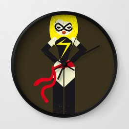Ms. Marvel Wall Clock