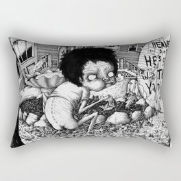 Nature Boy Rectangular Pillow