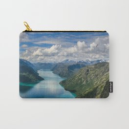 Winding lake Carry-All Pouch