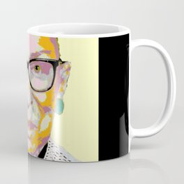 Yellow Ruth Bader Ginsburg Coffee Mug