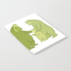 Bear family of Five Notebook