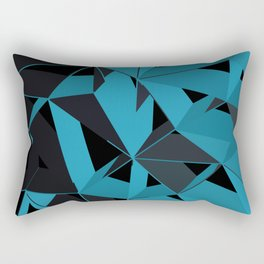 3D Futuristic GEO BG II Rectangular Pillow
