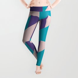 Abstract Glow #society6 #glow #pattern Leggings