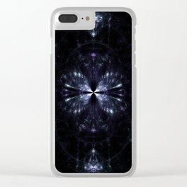 Weird Glass in the Dark Clear iPhone Case