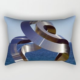 Sculptures by the Sea - Bondi to Coogee walk, Sydney Rectangular Pillow