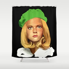 France Gall Shower Curtain