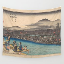 Japanese Print Wall Tapestry