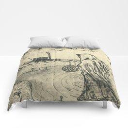 Illusions of Myth (Teeth) Comforters