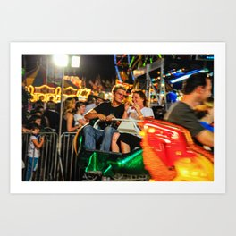 Night at the Fair Art Print