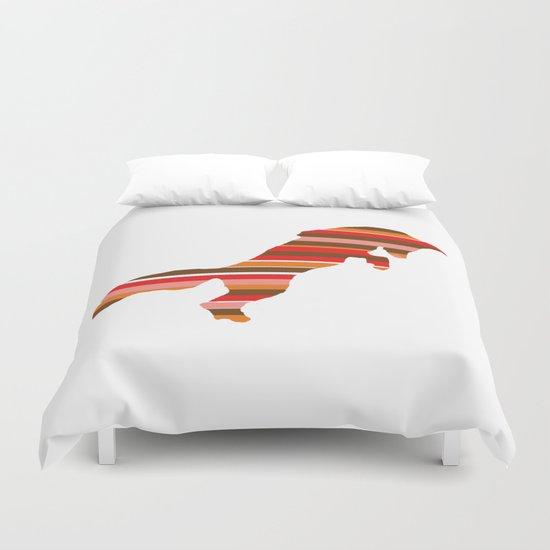 Fox Stripes Duvet Cover