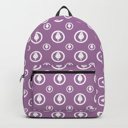 Magnolia Pattern Backpack