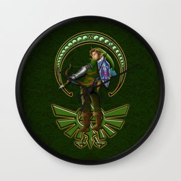 warrior link iPhone 4 5 6 7 case, pillow case, mugs and tshirt Wall Clock