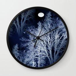 Winter Moon... Wall Clock