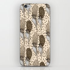 Bouffant Birds Pattern iPhone & iPod Skin