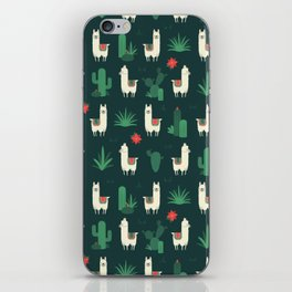 Fleece Navidad and Cactus iPhone Skin