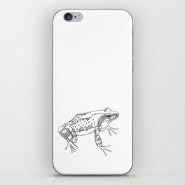 Little frog iPhone Skin