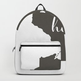 Wisconsin is Home Backpack