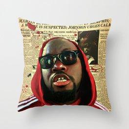 Kill The Messenger! Throw Pillow