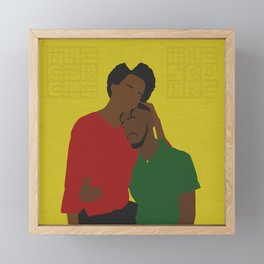 Warm Embrace Framed Mini Art Print